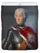 Prince Augustus William Oil On Canvas Duvet Cover