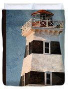 Prince Edward Island Lighthouse Duvet Cover