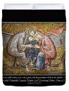 Prince Of Peace Duvet Cover