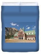 Prince Of Wales Hotel Duvet Cover