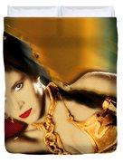 Princess Leia Star Wars Episode Vi Return Of The Jedi 1 Duvet Cover by Tony Rubino