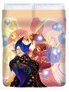 Princess Of Light Duvet Cover