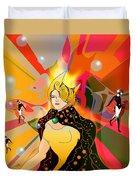 Princess Of Lightbeams Duvet Cover