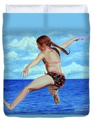Princess Of The Ocean - Princesa Del Oceano Duvet Cover