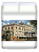 Princeton New Jersey - The Princeton Inn - 1925 Duvet Cover