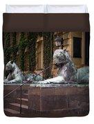Princeton Tigers Duvet Cover