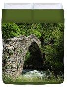 Principality Of Andorra. Pont De La Duvet Cover