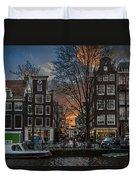 Prinsengracht 743. Amsterdam Duvet Cover