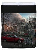 Prinsengracht 791. Amsterdam. Duvet Cover