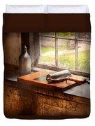 Printer - A Hope And A Brayer Duvet Cover