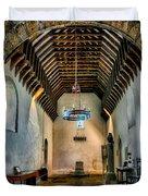 Priory Church Of St Seiriol Duvet Cover by Adrian Evans