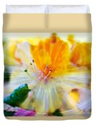 Prisms Of Nature - Meditation - Rhododendron  Duvet Cover