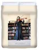 Prisoner Of The Arts Duvet Cover