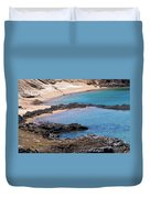 Private Beaches Duvet Cover