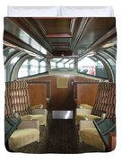 Private Dome Rail Car  Duvet Cover