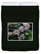 Privet Blossoms 2 Duvet Cover