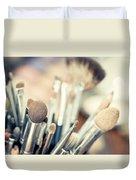 Professional Makeup Brush Duvet Cover