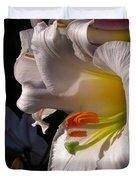 Profile Lilium Regale Duvet Cover