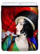 Profile Of Penelope Duvet Cover