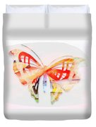 Profound Thought Butterfly Duvet Cover