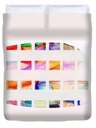 Profound Thought Segmented Duvet Cover