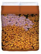 Profusion In Yellows Pinks And Oranges Duvet Cover
