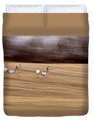 Pronghorn Antelope Duvet Cover