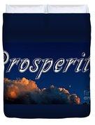Prosperity Duvet Cover