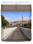Prosser - Going To Town Duvet Cover