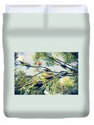 Protea Repens Maui Hawaii Sugarbush Duvet Cover