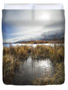 Protected Wetlands Duvet Cover