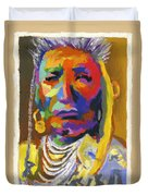 Proud Native American Duvet Cover
