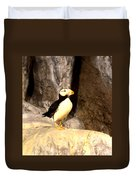 Proud Puffin Duvet Cover