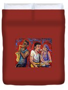 Prove It All Night Bruce Springsteen And The E Street Band Duvet Cover by Jason Gluskin