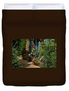 Provencal Alley Duvet Cover