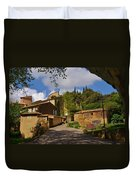 Provencal Village Duvet Cover