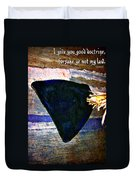 Proverbs 4 2 Duvet Cover