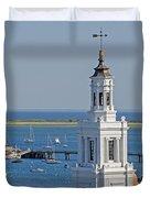 Provincetown Steeple Duvet Cover