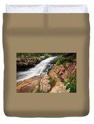 Provo River Falls 3 Duvet Cover
