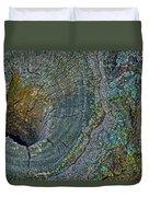 Pruned Limb On Live Oak Tree Duvet Cover