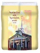 Psalm 119 151 Duvet Cover