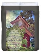 Psalm 119 159 Duvet Cover