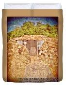 Psalm 61 3 Duvet Cover