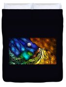 Psalm 91-4 Duvet Cover