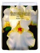Psalms 113 V 1 Duvet Cover