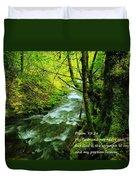 Psalms 73-26 Duvet Cover