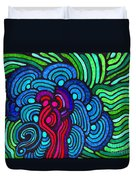 Psychedelia 5 Duvet Cover
