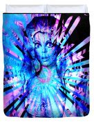 Psychedelic Barbie Duvet Cover