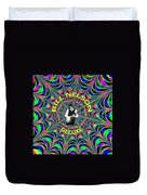 Psychedelic Bill Nelson Deluxe Duvet Cover