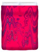 Psychedelic Duvet Cover by DigiArt Diaries by Vicky B Fuller